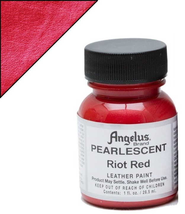 fabric 451C PEARLESCENT RIOT RED 29.5 ML