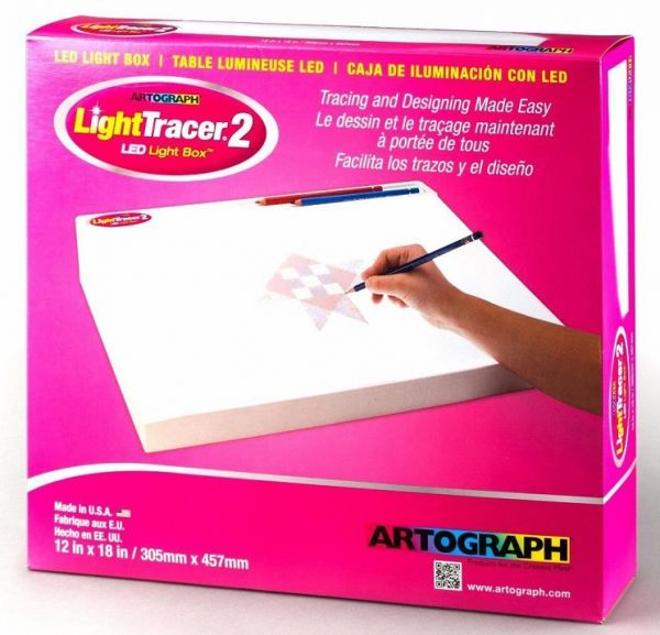 Artograph Light Tracer 2 - Piano luminoso LED 30 X 46 cm da tavolo