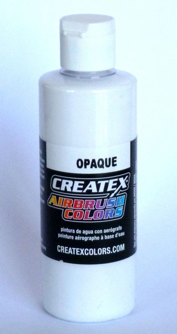 CREATEX 120 ml colore coprente aerografo 5212 OPAQUE WHITE - BIANCO