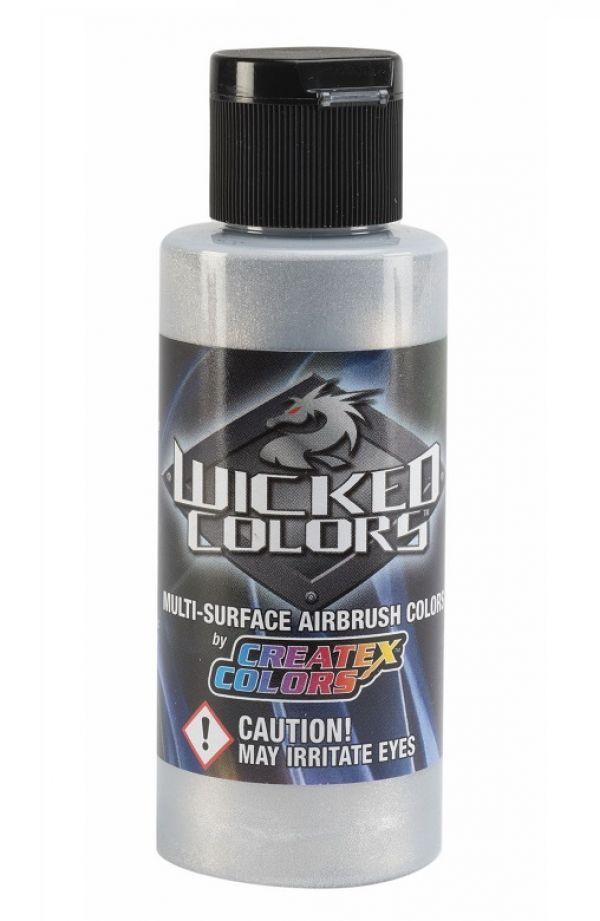 Createx Wicked 60 ml colore aerografo W354 ALUMINIUM - ALLUMINIO