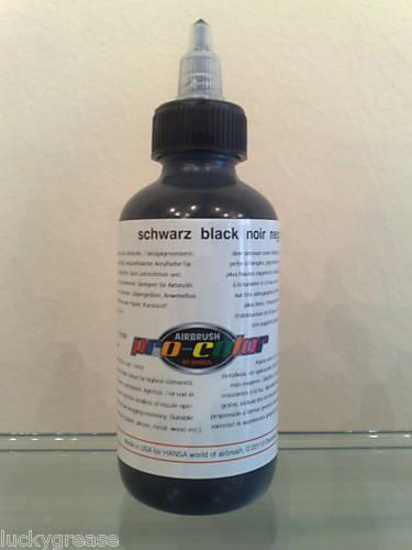 Hansa Pro-Color 125 ml colore coprente 61024 BLACK - NERO