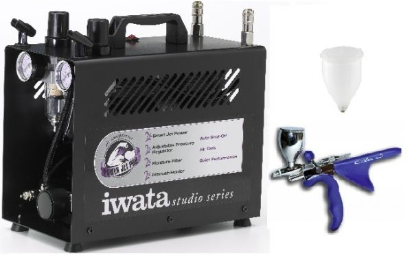 Iwata Airbrush Kit >> Sale Airbrush Kit Iwata For Confectionary Decoration With